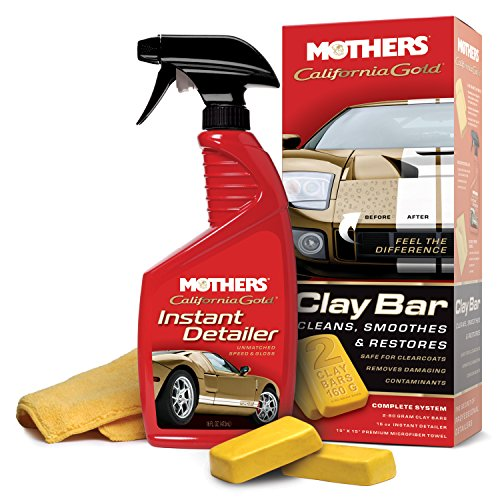 Mothers 07240 California Gold Clay Bar System (Auto Detailing Trailer compare prices)