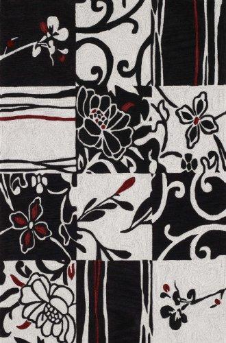 Dalyn Rugs Studio 20 9-Feet by 13-Feet Area Rug, Black