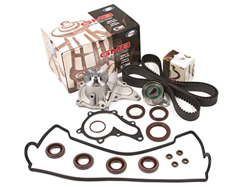 Evergreen TBK235VC Toyota Corolla Celica 1.8L 7AFE Timing Belt Kit Valve Cover Gasket GMB Water Pump (Toyota Corolla 7afe compare prices)