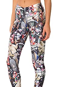 COCOLEGGINGS Womens 3d Digital Printe…