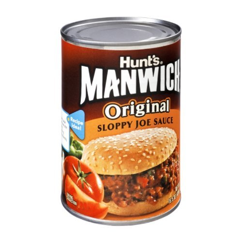 hunts-manwich-sloppy-joe-sauce-original-15-ounce-pack-of-24-by-hunts