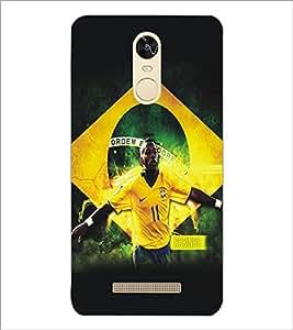 PrintDhaba Sports D-5194 Back Case Cover for XIAOMI REDMI NOTE 3 MEDIATEK (Multi-Coloured)