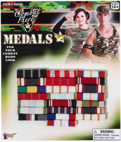 Forum Novelties Military Medal Bars - 1