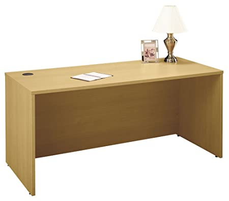 66 in. Manager Desk in Light Oak - Series C