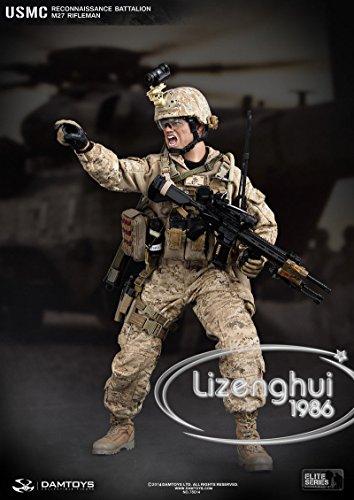 Dam Toys Usmc Reconnaissance Battalion M27 Rifleman 1 6 78014