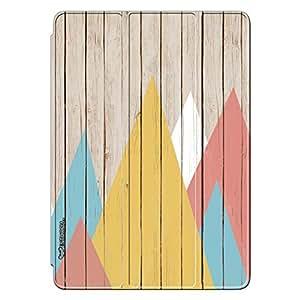 Enthopia Designer Front Smart Cover Rendez-wood for Ipad Mini 2/3 with Transparent Back Case