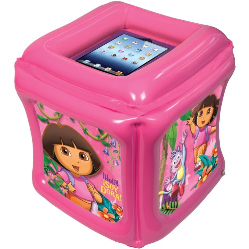 Dora The Explorer Inflatable Play Cube For Ipad/Ipad 2/The New Ipad With App Included front-122664