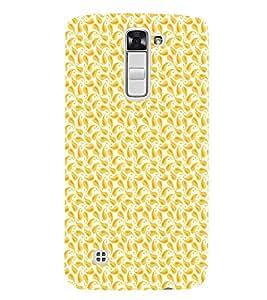 EPICCASE orangy leaf Mobile Back Case Cover For LG K10 (Designer Case)