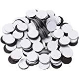 "BYKES Magnets 1/2"" Round Disc with Adhesive Backing - 250 Pcs"