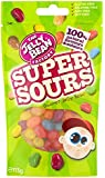 The Jelly Bean Factory Super Sour Jelly Beans in a Bag 113 g (Pack of 6)