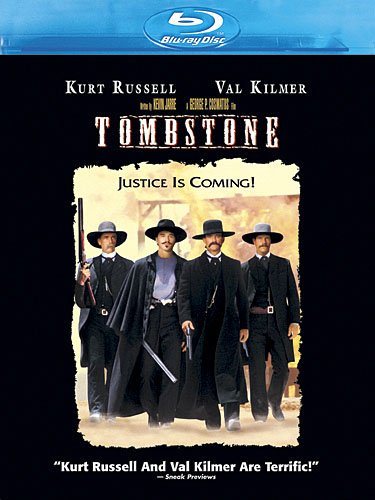 Cover art for  Tombstone  [Blu-ray]