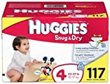 Huggies Snug & Dry Diapers Value Pack Size 4