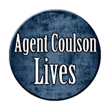 Agent Coulson Lives Pinback Button
