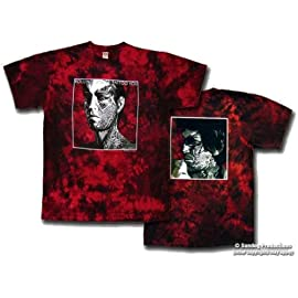 Rolling Stones Tattoo You Red Tie Dye Shirt