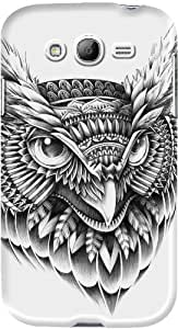DailyObjects Ornate Owl Head Case For Samsung Galaxy Grand Duos I9082 (Back Cover)
