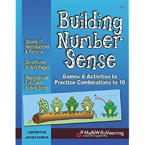 Download Building Number Sense - Games & Activities to Practice Combinations to 10 (Grades K-1)