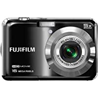Fujifilm FinePix AX650 16MP Digital Camera with 2.7-Inch LCD (Black) from FUJIFILM