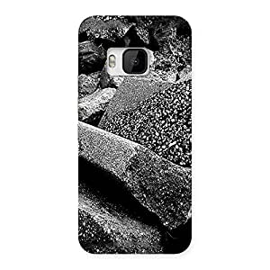 Ajay Enterprises Havy Stons Back Case Cover for HTC One M9