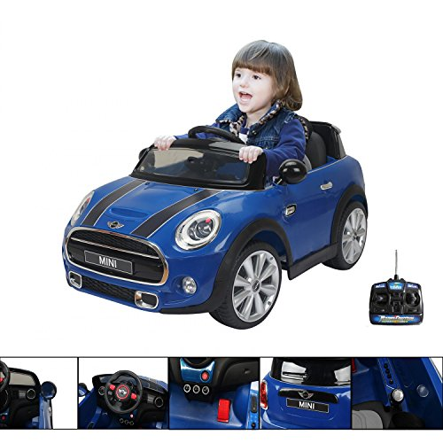 mini-cooper-blu-macchina-elettrica-12-v-per-bambino-con-telecomando-parentale