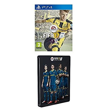 FIFA 17 - Standard Steelbook Edition (Exclusive to Amazon.co.uk) (PS4)