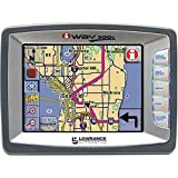 Lowrance 112-362 iWay 500C Portable GPS Navigator and MP3 Player ~ Lowrance