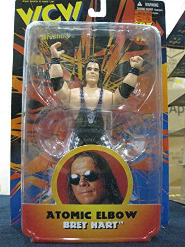 WCW Atomic Elbow Bret Hart distributed by Toymakers 1998