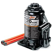 Powerzone 380042 20 Ton Steel Bottle Jack
