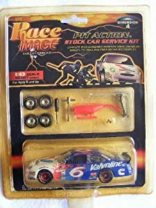 Race Image Collectables 1:43 Scale Pit Action Stock Car Service Kit, Valvoline 6
