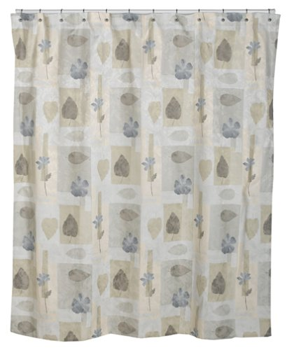 Croscill Spa Leaf Shower Curtain