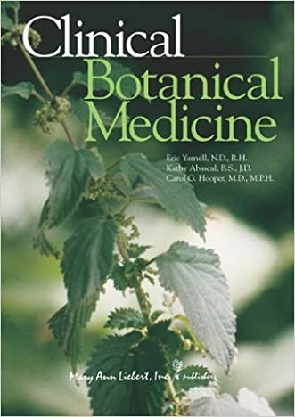 Clinical Botanical Medicine written by Eric Yarnell