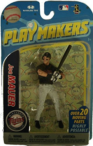 McFarlane Toys MLB Playmakers Series 2 Action Figure Joe Mauer (Minnesota Twins) - 1