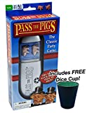 Pass the Pigs Game w/ Free Dice Cup