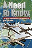 img - for A Need to Know - The Role of Air Force Reconnaissance in War Planning 1945-1953 book / textbook / text book