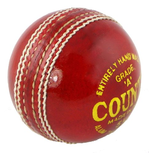UPFRONT Opttium County 5.5oz Cricket Ball - MENS. Quality alum tanned leather with cork/wool centre.