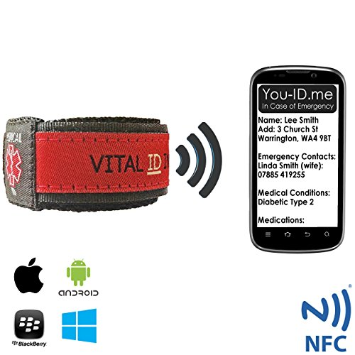 unlimited-medical-information-identity-wrist-band-adult-child-medical-id-bracelet-by-vital-id-100-wa