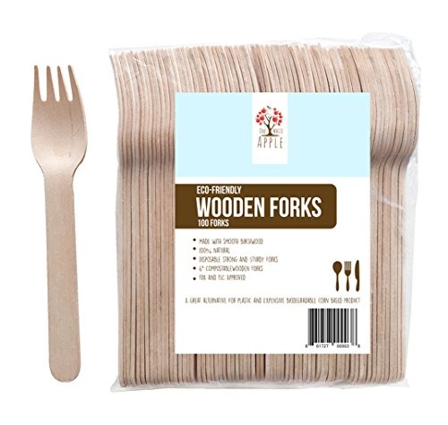 disposable-wooden-forks-6-length-eco-friendly-biodegradable-compostable-birchwood-pack-of-100-go-gre