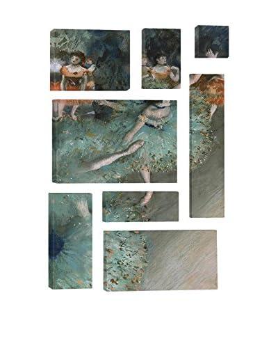 Edgar Degas Green Dancer 1880 8-Piece Canvas Print Set