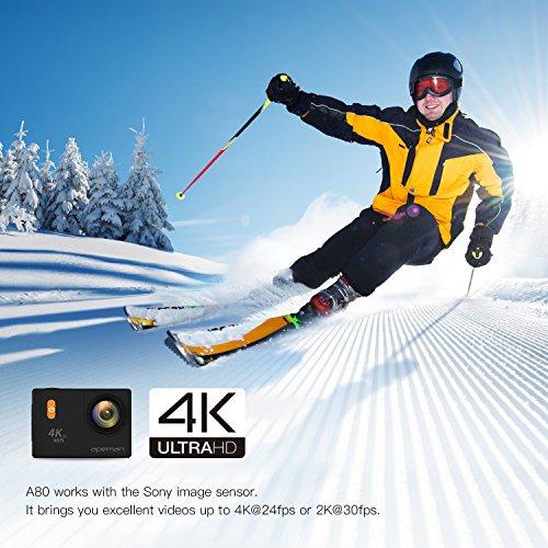 APEMAN-Action-Camera-Sport-Cam-4k-Ultra-HD-impermeabile-con-astuccio-per-portarla-ovunque-e-due-batterie-con-capacit-da-1050mAh-schermo-da-2-pollici-e-grandangolo-a-170