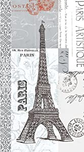Napkin/Guest Towel - Paris Artistique - Eiffel Tower