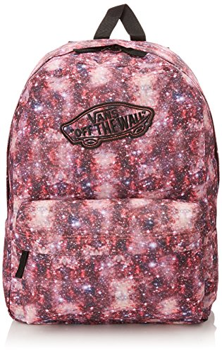 Vans - G Realm Backpack, Zaino da donna, multicolore (black/coral), única