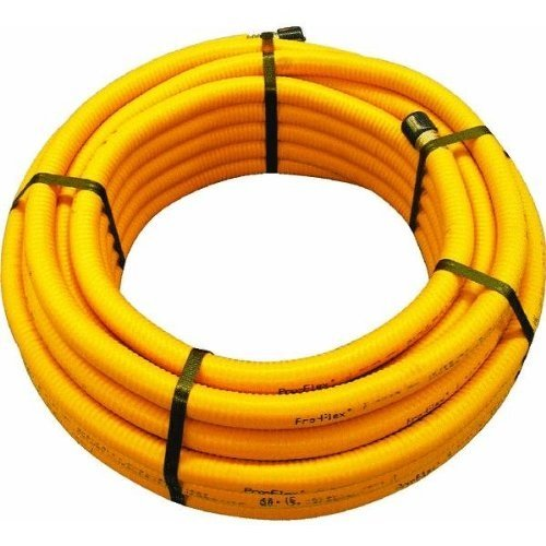 1/2x25 Corrug SS Tubing (25 Feet Natural Gas Hose compare prices)
