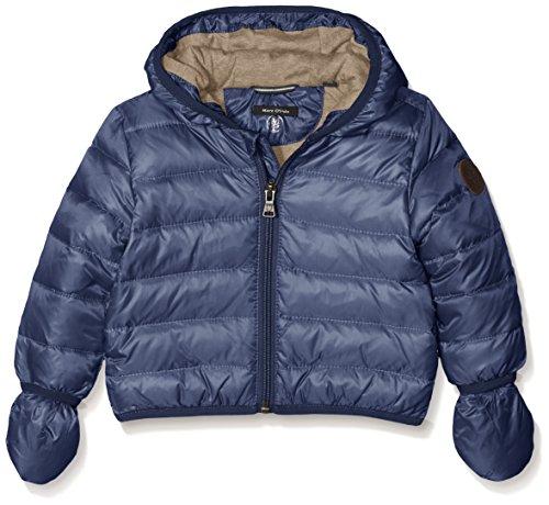Marc O' Polo Kids Jacke Mit Kapuze Und Abnehmbaren Ha, Giacca Bambino, Blau (Mood Indigo 3008), 3 mesi