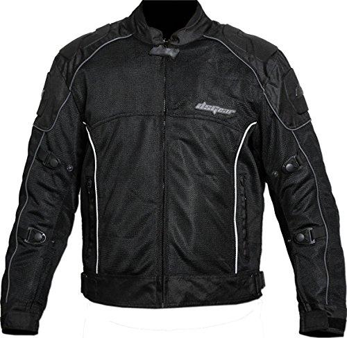 DSG Evo Polyester Jacket (Black, X-Large)