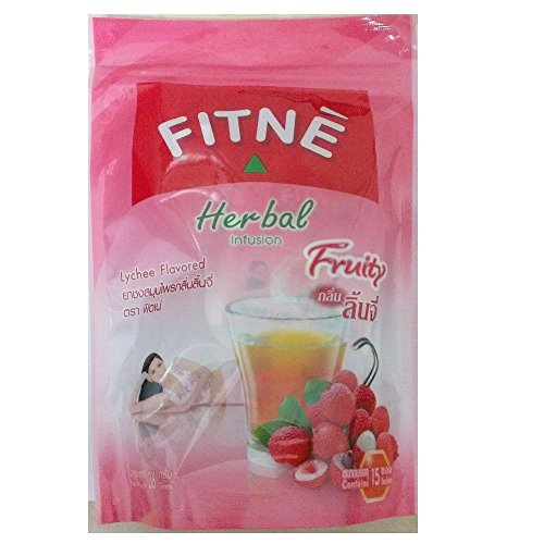 Fitne Herbal Infusion Lychee Flavored. Weight Loss Slimming (Pack Of 8 Sachets) X 3 Pack