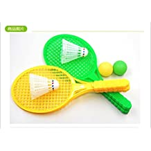 Generic Outdoor Sports Mini Badminton Racket For Children Beach Racket Lovely Cheap Badmintons Racquet Suit Kids...