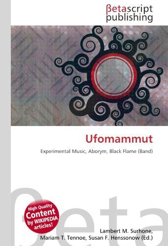 Ufomammut: Experimental Music, Aborym, Black Flame (Band)