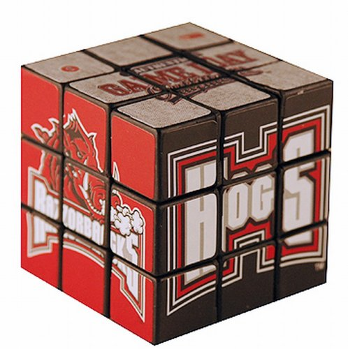 NCAA Arkansas Razorbacks Toy Puzzle Cube
