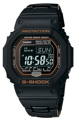 Buy CASIO MULTI-BAND ATOMIC SOLAR WATCH BLACK GW5600BCJ-1