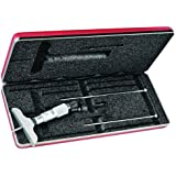 Starrett 440Z Vernier Depth Gauges, Lock Nut (no Ratchet Stop), Micrometer Type, Inch