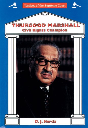 a description my journal of thurgood marshall an american supreme court judge Thurgood marshall was nominated by president lyndon b johnson as associate justice of the us supreme court he was the first african american to hold this position washington, dc 1954 - on may 17 the supreme court handed down a decision that changed history forever.